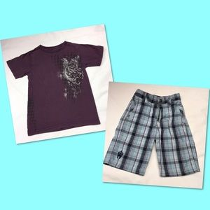 Micros Other - Boys size 4/4T shirt and short bundle 🚔