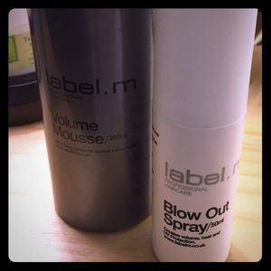 Volume Mousse & a mini blow out spray duo