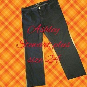 Ashley Stewart Denim - Trendy Ashley Stewart Tall Bootcut Denim Jeans