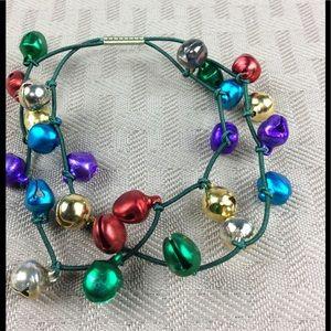 Jewelry - New Jingle Bell 🔔Stretch Bracelet