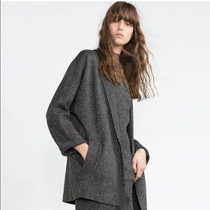 ZARA oversized knit cardigan size S