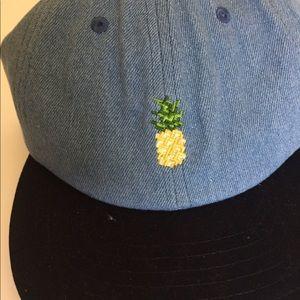 Urban Outfitters Accessories - Rosin Denim Pineapple Cap dc0b3dec80e2