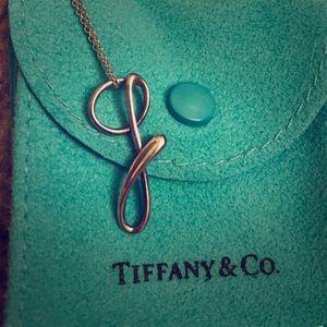 Tiffany & Co. Jewelry - Tiffany Elsa Peretti Initial Necklace