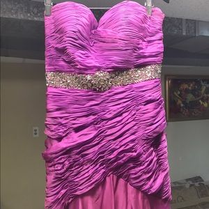 Dresses & Skirts - Purple prom dress gown