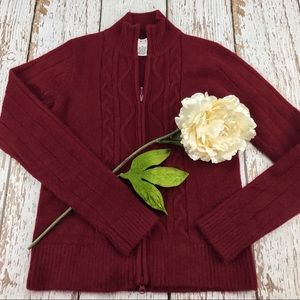 💕SALE💕Cabi Cherry Red Sweater