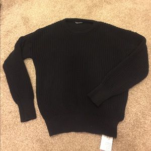 American Apparel Sweaters - Black Pull Over Sweater