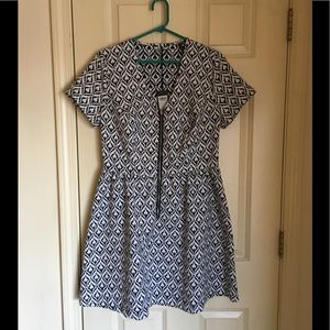 Kelly Brook Dresses & Skirts - NWT Fit and Flare Dress Size 10 by Kelly Brook