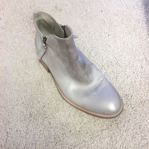 n.d.c. Shoes - 🆕 N.d.c made by hand real leather silver bootie