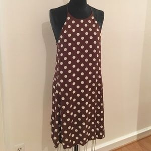 Zara Polka Dot Swing Dress