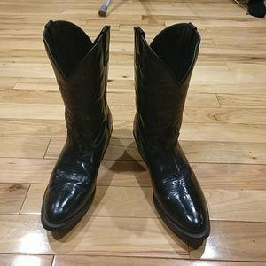 Laredo Other - Men's cowboy boots black size 11.5 wide