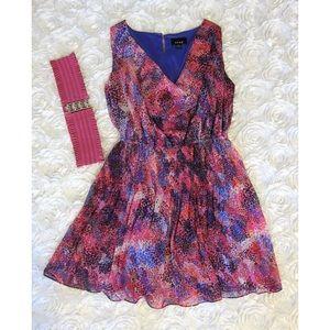 Snap Dresses & Skirts - Snap sleeveless pink dress w/pink belt