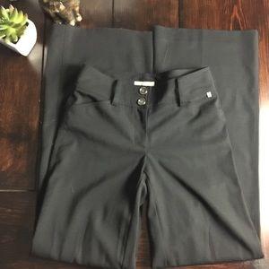 Burberry Sz 2 Black Trousers
