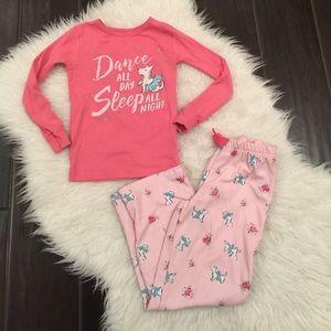 Carter's Other - Carters pajamas. Carters pjs. Pink pajamas