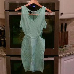bebe Dresses & Skirts - Seafoam green sexy dress BODYCON