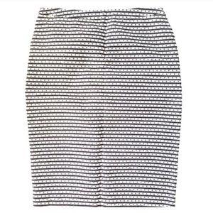 Merona Black & White Diamond Pencil Skirt