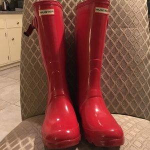 Hunter Shoes - Red Hunter Boots 😍