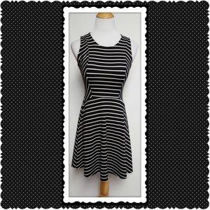Soprano Dresses & Skirts - Black and White Skater Dress