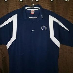 Nike Other - XL-Nike Penn State Coach Sideline Navy FitDry Polo