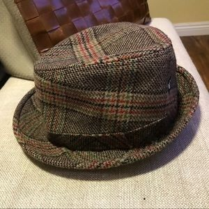 Goorin Brothers Other - Vintage Goodwin Brothers 100% Wool Tweed hat