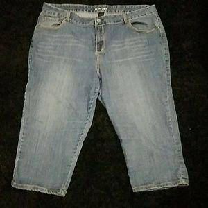 Lane Bryant Denim - Lane Bryant Capri Jeans