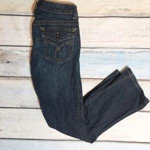 Calvin Klein Jeans Denim - Calvin Klein Lean Bootcut Jeans