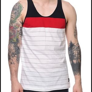 Imperial Motion Other - IMPERIAL MOTION Starter Navy, Red & White Tank Top