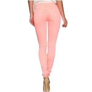 BLK DNM Denim - BLK DNM Pink Skinny Jeans