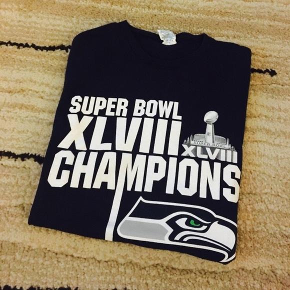 a3d333b0 PRICE DROP - Seattle Seahawks Super Bowl Shirt