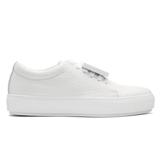 Acne Shoes | Acne Studios White Grain