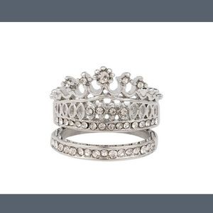 YouShouldBeFashioned Jewelry - ⚡️Crown Ring⚡️