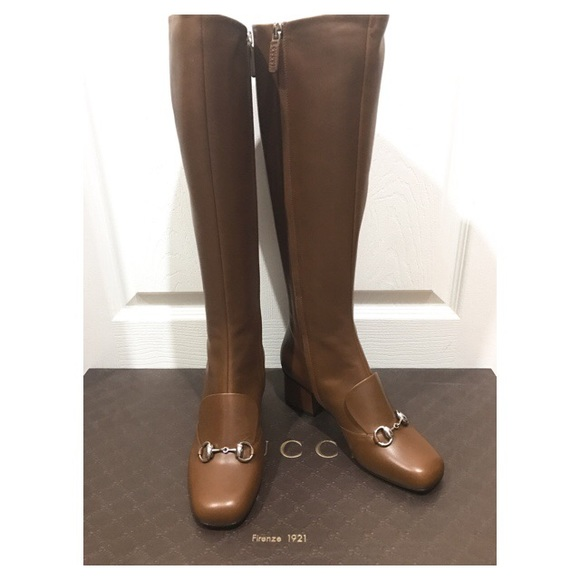 339c3e7f5 Gucci Shoes | Lillian Horsebit Knee High Boot | Poshmark