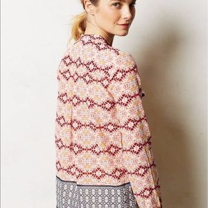 HD Paris Anthropologie Blouse