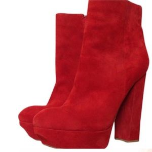 Dolce Vita Shoes - DOLCE VITA RED JEMMA ANKLE BOOTIE 9