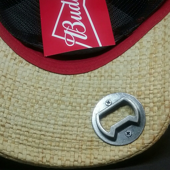 41 off budweiser other new w tags budwieser ball cap w bottle opener from jimmy 39 s closet. Black Bedroom Furniture Sets. Home Design Ideas