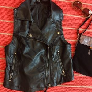 Rue21 Tops - Rue21 faux leather vest