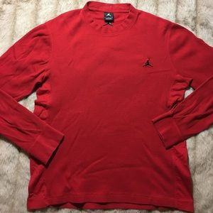 Jordan Other - Jordan Long Sleeve Crewneck Shirt x Cotton x Tee