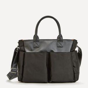 Baby Essentials Handbags - EBBY CARRY ALL DIAPER BAG - BLACK