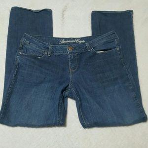 American Eagle Denim - American Eagle 77 Straight Jeans Size 14 Regular