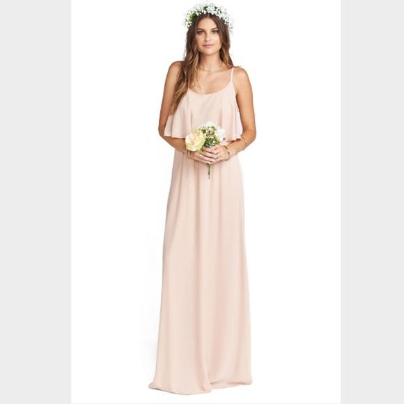 08769125263d Show Me Your MuMu Dresses | Smym Caitlin Ruffle Maxi Dress Dusty ...