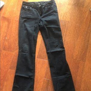 Banana Republic Flare Jeans, Black, 27
