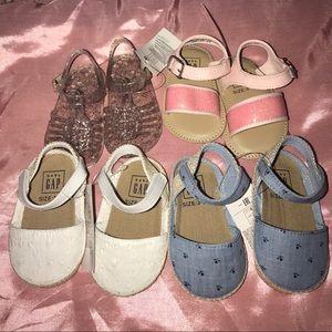 GAP Other - Baby Gap sandals (Bundle)