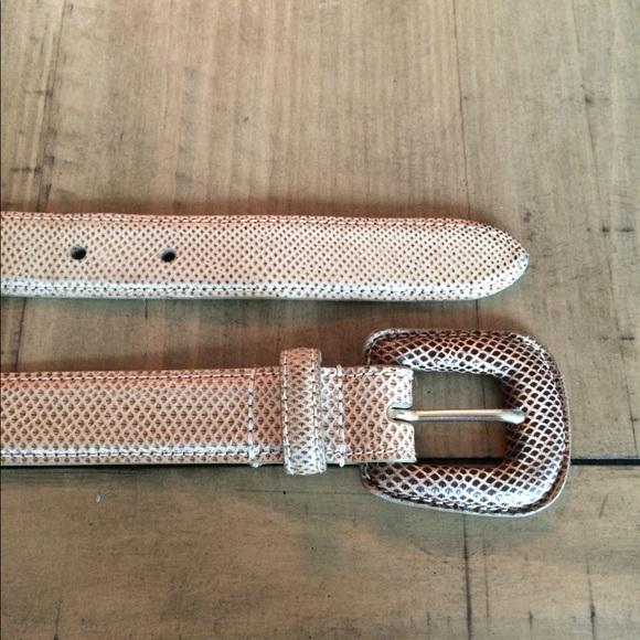 WCM Accessories - WCM Genuine Reptile belt