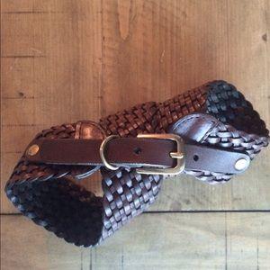 LOFT Accessories - LOFT brown braided belt