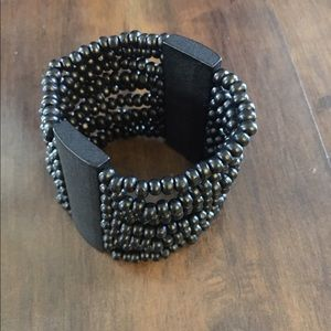Jewelry - Black Beaded Bracelet