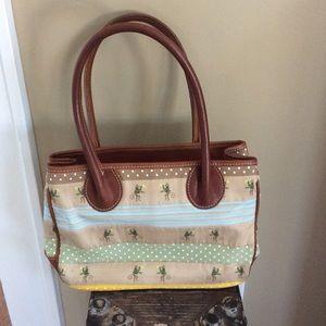 J. McLaughlin Handbags - Ribbon & leather handbag