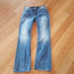83% off Silver Jeans Denim - NEW w/ tags Size 26 w/ 34 inseam SUKI ...