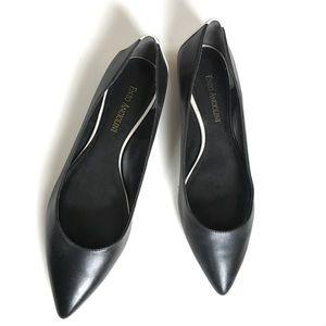Enzo Angiolini Shoes - Black Stylish Pointed Toe Flats