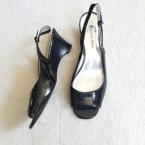 Etienne Aigner Shoes - 🆕Etienne Aigner Patent Leather Slingback Sandal