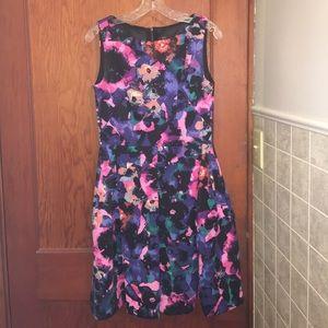 NWOT Just Taylor Floral Dress