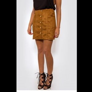 Suede Skirts on Poshmark